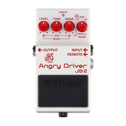 Boss JB-2 Angry Driver Guitar Effects Pedal - top view