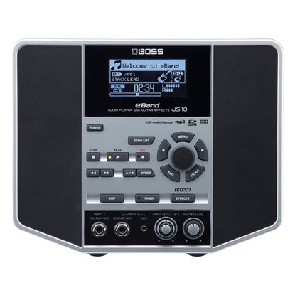 BOSS JS10 eBand Audio Player With Guitar Effects