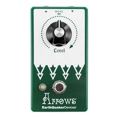 Earthquaker Devices Arrows Preamp Booster V2 Effects Pedal Top