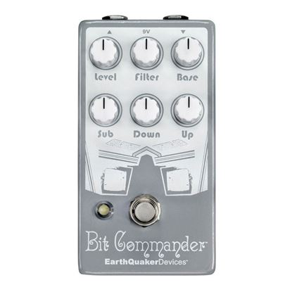 Earthquaker Devices Bit Commander Octave Synth V2 Effects Pedal Top