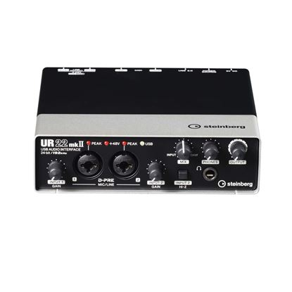 Steinberg UR22mkII USB Audio Interface - Front Top