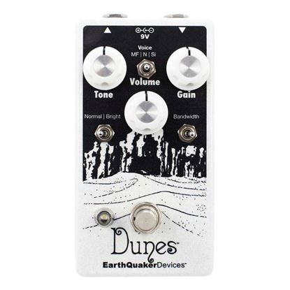 Earthquaker Devices Dunes Mini Mega Ultimate Overdrive V2 Effects Pedal Top