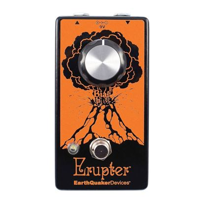 Earthquaker Devices Erupter Ultimate Fuzz Effects Pedal Top