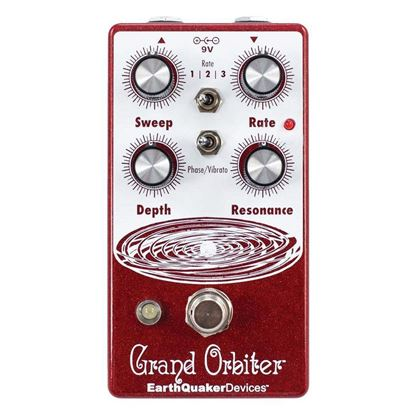 Earthquaker Devices Grand Orbiter Phase Machine V3 Effects Pedal Top