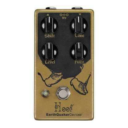 Earthquaker Devices Hoof Germanium/Silicon Fuzz V2 Effects Pedal Top