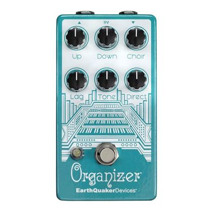 Earthquaker Devices Organizer Polyphonic Organ Emulator V2 Effects Pedal Top