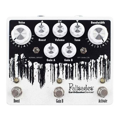 Earthquaker Devices Palisades Mega Ultimate Overdrive V2 Effects Pedal Top