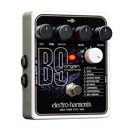 Electro Harmonix EHX B9 Organ Machine Guitar Effects Pedal