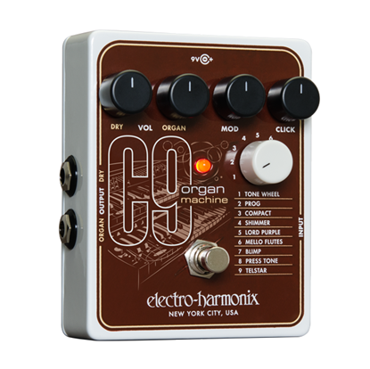 Electro Harmonix EHX C9 Organ Machine Guitar Effects Pedal