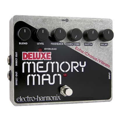 Electro Harmonix EHX Deluxe Memory Man Guitar Effects Pedal