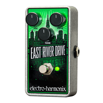 Electro Harmonix EHX East River Drive Overdrive Guitar Effects Pedal