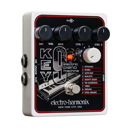 Electro Harmonix EHX Key 9 Electric Piano Machine Guitar Effects Pedal