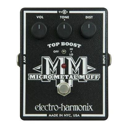 Electro Harmonix EHX Micro Metal Muff Guitar Effects Pedal