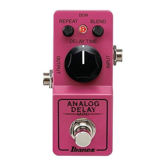 Ibanez ADMINI Analog Delay Mini Guitar Effects Pedal