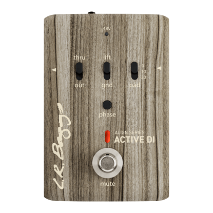 LR Baggs Align Series Active DI Acoustic Guitar Effects Pedal
