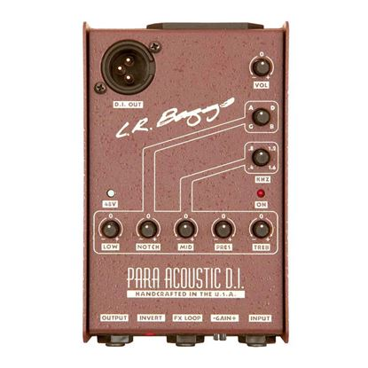 LR Baggs Para DI - Acoustic Direct Box & Preamp with 5-band EQ