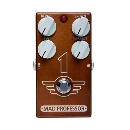Mad Professor 1 Distortion/Reverb Guitar Effects Pedal