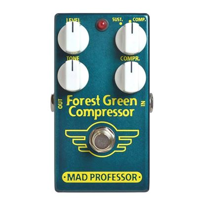 Mad Professor Forest Green Compressor Guitar Effects Pedal
