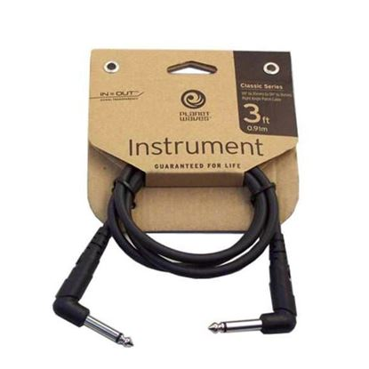 "Planet Waves 1/4"" Patch Cable 3ft"