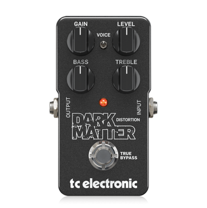 TC Electronic Dark Matter Distortion Pedal - Front