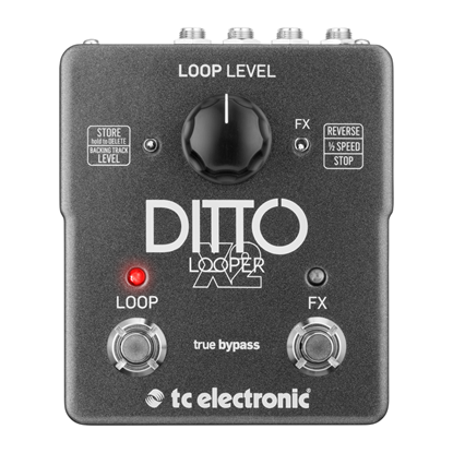 TC Electronic Ditto x2 Looper Pedal - Front