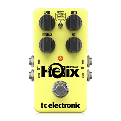 TC Electronic Helix Phaser Pedal - Front
