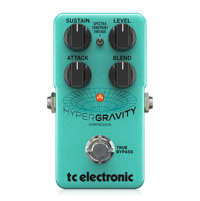 TC Electronic HyperGravity Compression Pedal - Front