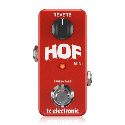 TC Electronic Mini Hall of Fame Reverb Pedal - Front