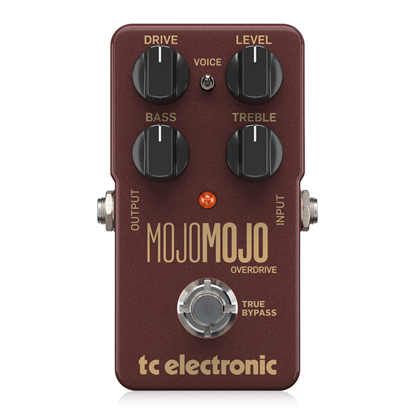 TC Electronic Mojo Mojo Overdrive Pedal - Top