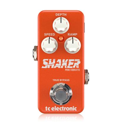 TC Electronic Shaker Mini Vibrato Pedal - Front