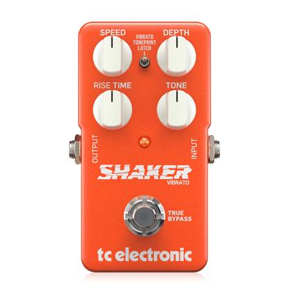 TC Electronic Shaker Vibrato Pedal - Front
