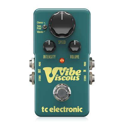 TC Electronic Viscous Vibe Pedal - Front