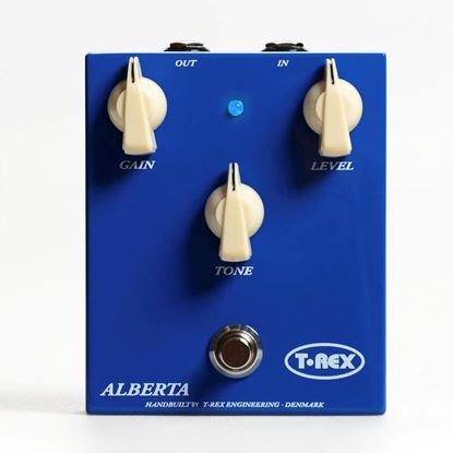 TREX Alberta Overdrive Guitar Effects Pedal