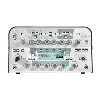 Kemper Head Guitar Amplifier Profiler and Effects Processor - White - Front