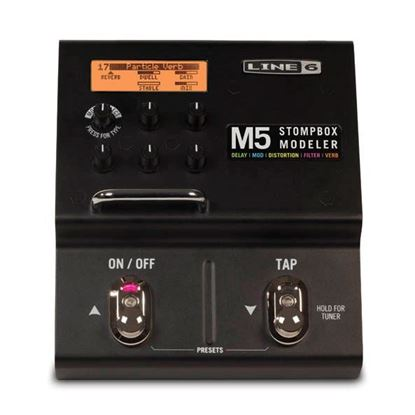 Line 6 M5 Stompbox Modeller Effects Processor Pedal