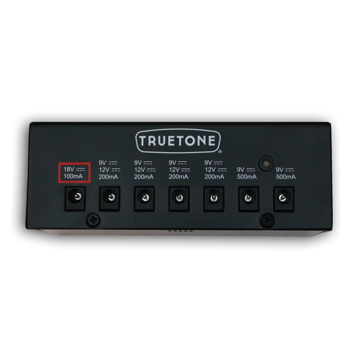 Truetone 1 Spot Pro CS7 Pedalboard Power Supply with 7 Outlets