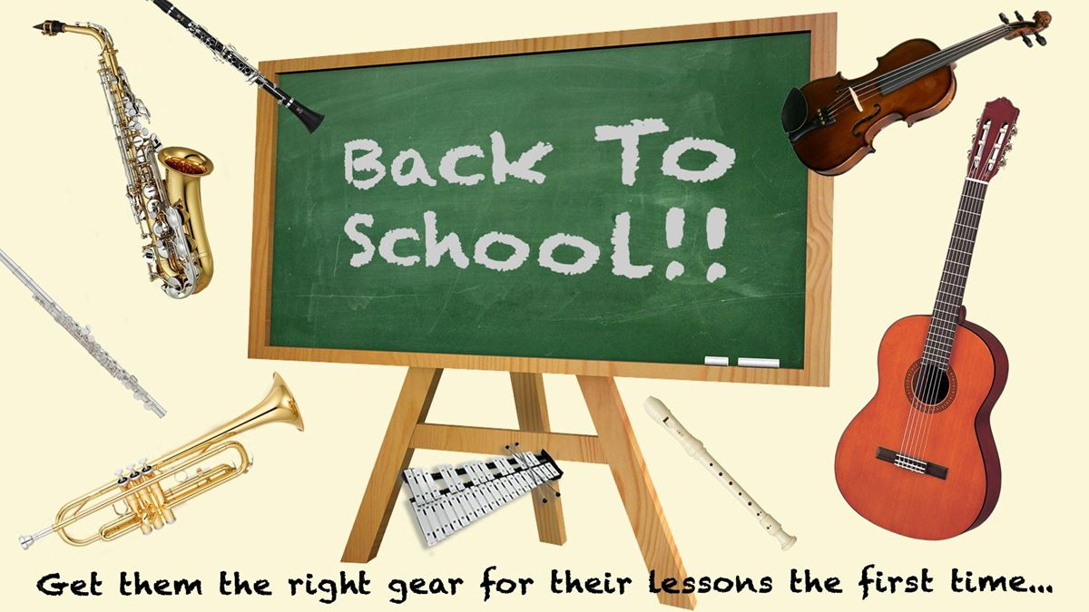 Back to School Guitars