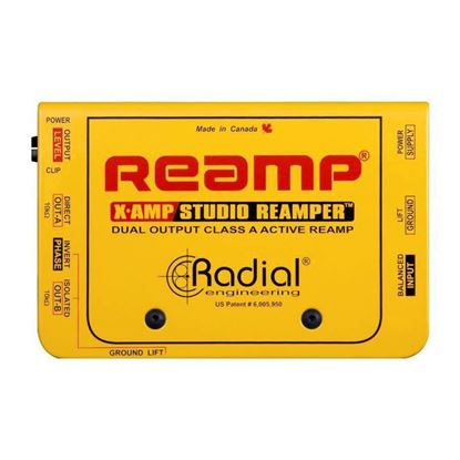 Radial X-Amp Class-A Re-Amping Device - Top