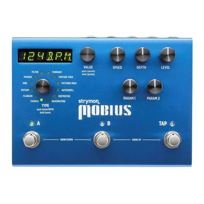 Strymon Mobious Multidimensional Modulation Effects Pedal Top View