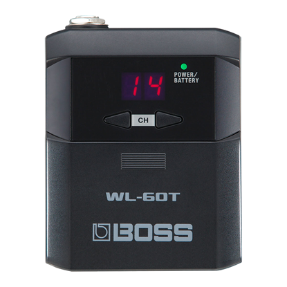 Boss WL-60T Wireless Guitar Transmitter - Top