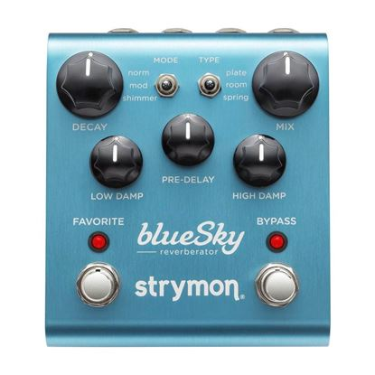Strymon blueSky Reverb Effects Pedal Top