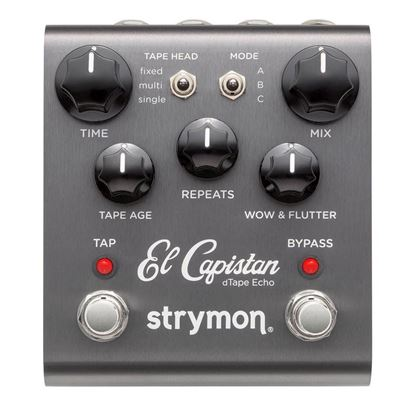 Strymon El Capistan Tape Echo Effects Pedal Top View