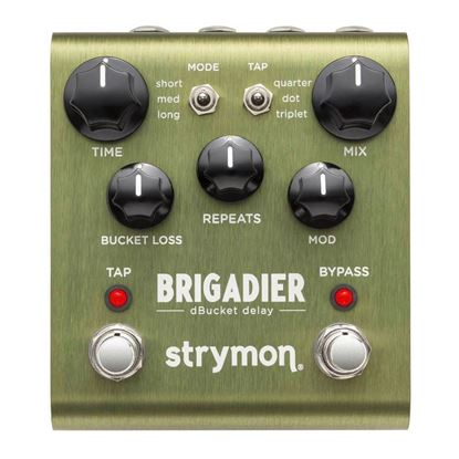 Strymon Brigadier Delay Effects Pedal Front