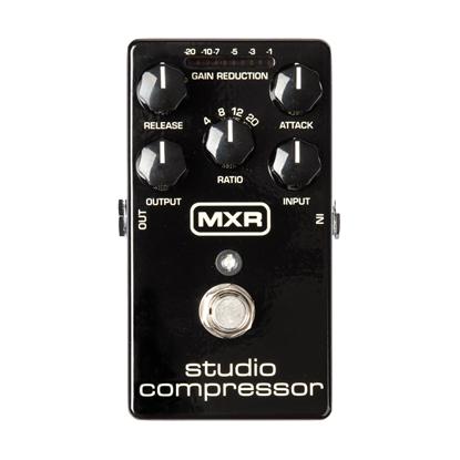 MXR M76 Studio Compressor Effects Pedal - Top Front