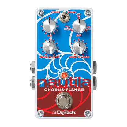 Digitech Nautila Digital Chorus Flanger Guitar Effects Pedal