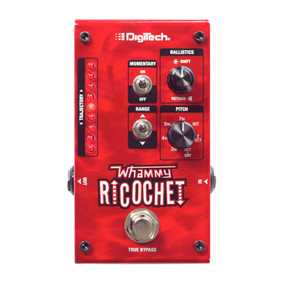 Digitech Whammy Ricochet Pitch Shift Guitar Effects Pedal