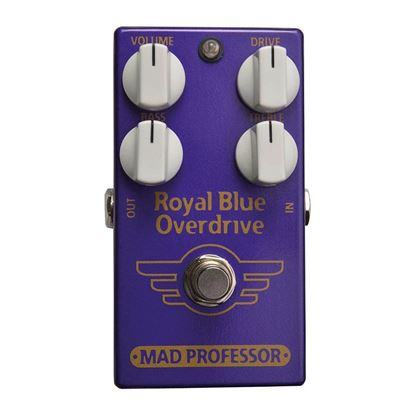 Mad Professor Royal Blue Overdrive Guitar Effects Pedal - Top
