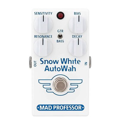 Mad Professor Snow White Autowah Guitar Effects Pedal - Front