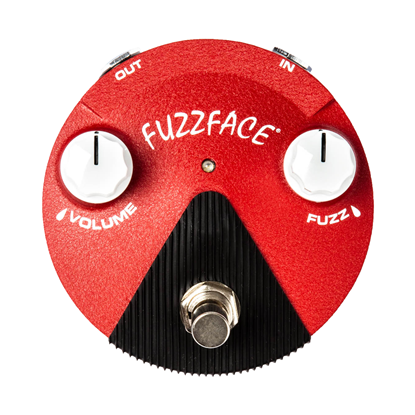 Jim Dunlop FFM6 Band of Gypsy's Fuzz Face Mini Distortion Effects Pedal - Top