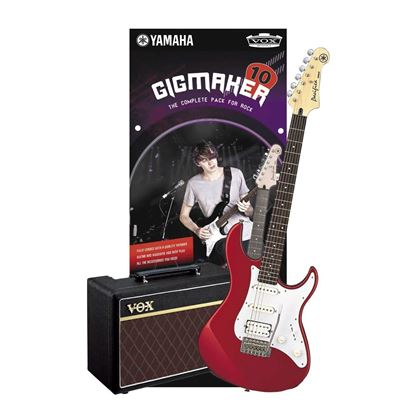 Yamaha Gigmaker Electric Guitar Pack (Guitar and Vox Amplifier) Red Metallic